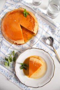 creme caramel ed 6 200x300 Smooth Creme Caramel or Flan – Romanian Recipe