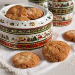 Easy and Crispy Ginger Cookies with Candied Ginger