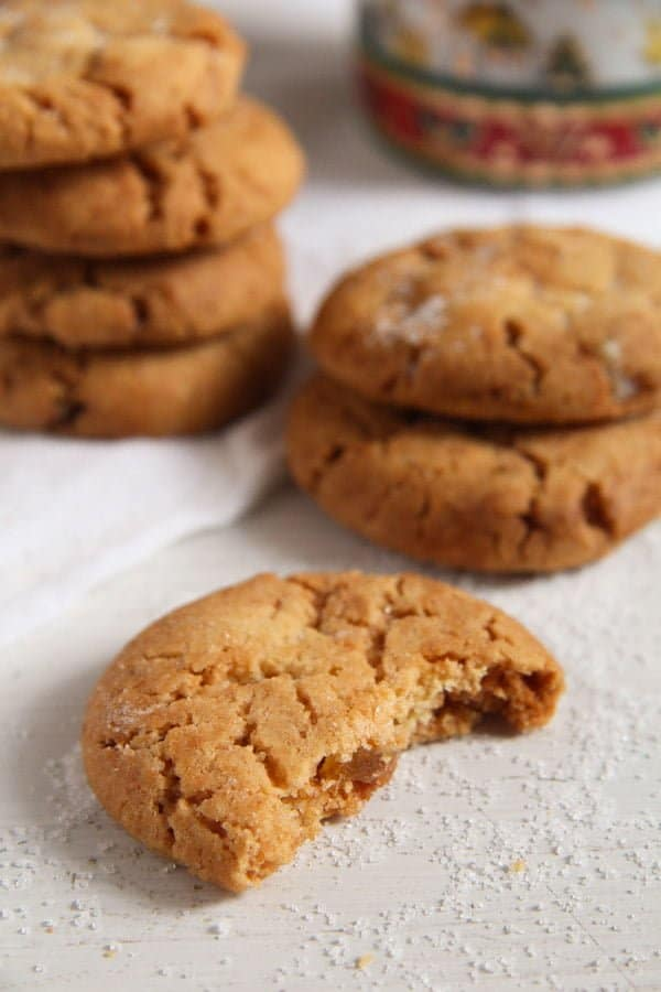ginger snaps cookies candied ginger