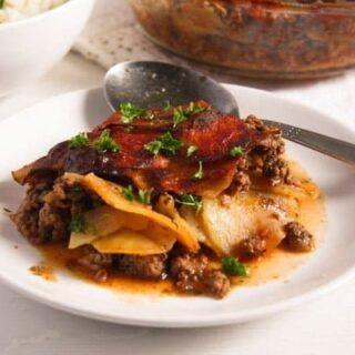 romanian recipes potato moussaka