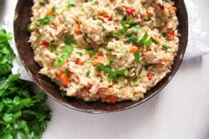 pilaf ed 4 300x200 Simple Chicken and Vegetable Pilaf – Romanian Recipe