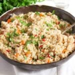 pilaf ed 5 150x150 Simple Chicken and Vegetable Pilaf – Romanian Recipe