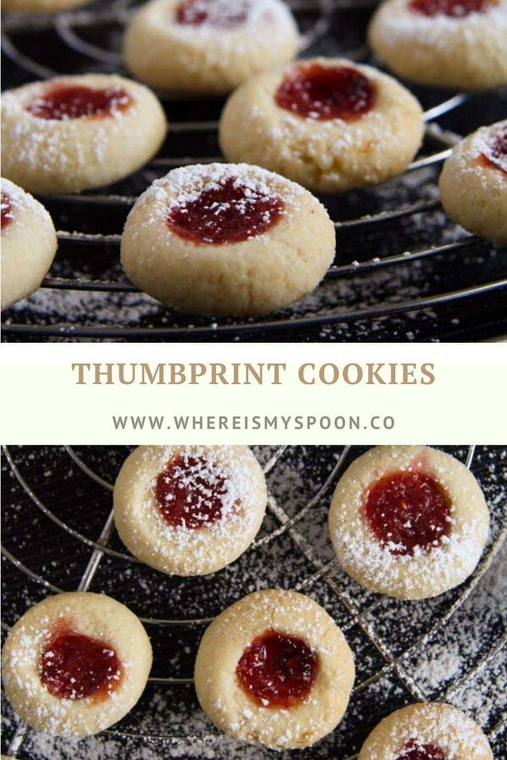 thumbprint cookies 735x1102 Classic Thumbprint Cookies