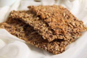 crisp bread 9 300x200 Easy Multi Seed Crispbread with Oats and Spelt Flour