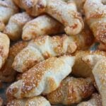 mini croissants 5 150x150 Puff Pastry Croissants Filled with Rose Jam