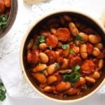 polish beans 4 150x150 Easy White Bean and Cabanossi Sausage Stew – Polish Recipe