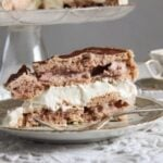Meringue Cake with Mascarpone – Polish Bezowy Torte