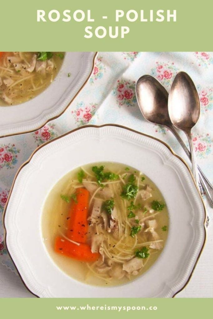 rosol polish chicken soup