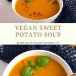 coconut sweet potato soup vegan