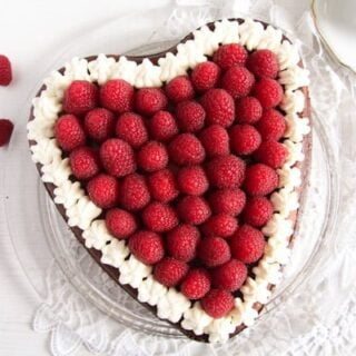 Heart-Shaped Cheesecake – Valentine's Day Cake