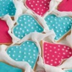 heart cookies 4 150x150 Easy Heart Shaped Butter Cookies with Flood Icing