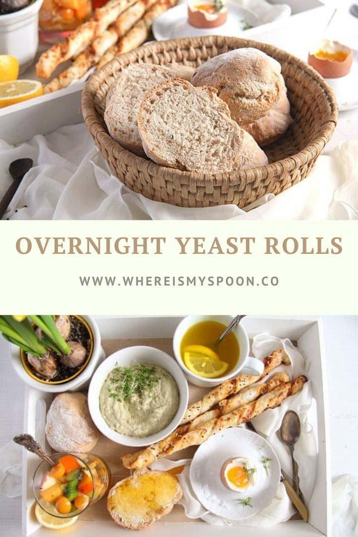 , Overnight Yeast Rolls