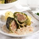 savoy cabbage rolls 4 150x150 Easy Stuffed Savoy Cabbage with Minced Meat – German Recipe