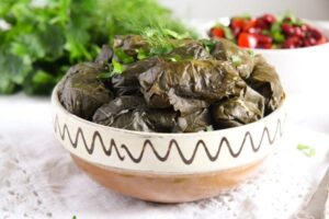 vine leaves cheese 3 300x200 how to stuff vine leaves