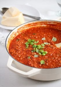 Italian meat sauce for pasta 7 211x300 Rosas Ultimate Homemade Meat Sauce for Pasta