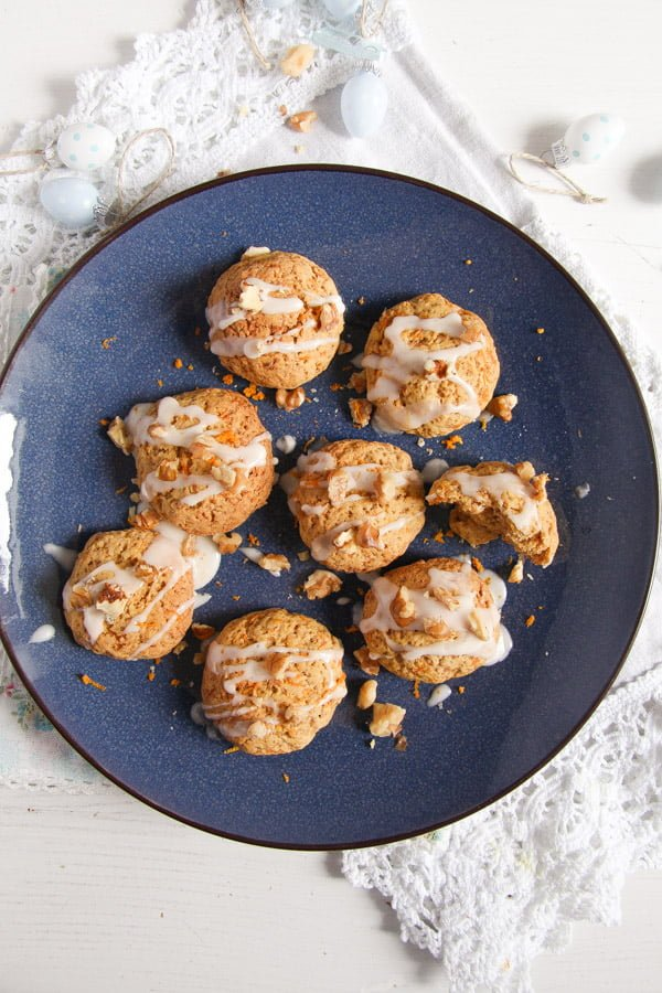 carrot cookies 2 Easy and Spicy Carrot Cookies with Orange Icing