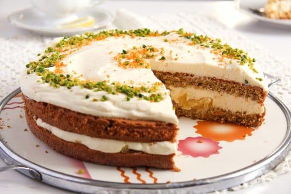 carrot orange cake 4 585x390 50 Spring Recipes