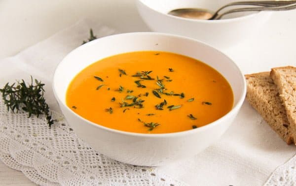 carrot soup 4 von 5 Simple and Delicious Creamy Carrot Soup with Milk