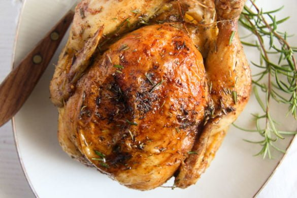 how to roast chicken 3 585x390 50 Spring Recipes
