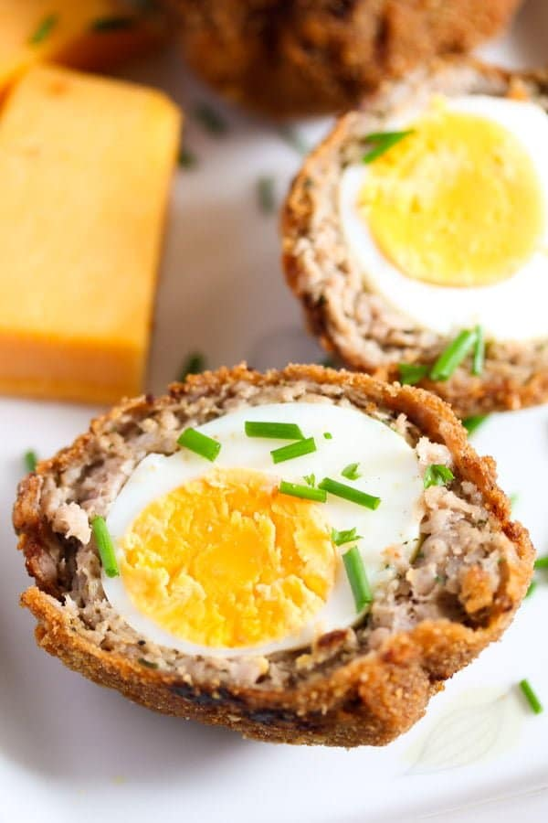 scotch eggs recipe 9 Classic Scotch Eggs Recipe – Fried, with Sausage and Herbs