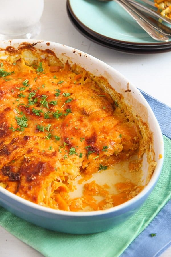 sweet potato stew 5 Easy Sweet Potato Gratin with Parmesan