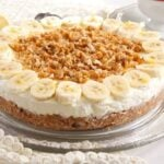 banana pie 2 150x150 No Bake Banana Caramel Cream Pie with Candied Walnuts