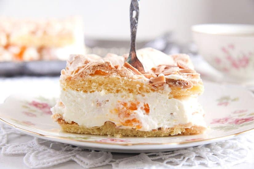 mandarin orange almond cake