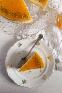 passion fruit cream cake 7 200x300 Passion Fruit or Maracuya Juice Cheesecake with Quark and Cream