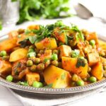 potato pea curry 4 150x150 Vegan Potato Curry Recipe with Tofu, Tomatoes and Peas