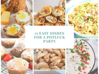 15 potluck food recipes collection