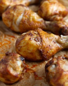 chicken drumsticks 5 237x300 Baked Chicken Drumsticks – Basic Chicken Recipe