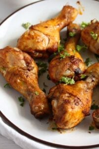 chicken drumsticks 6 200x300 Baked Chicken Drumsticks – Basic Chicken Recipe