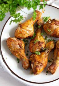 chicken drumsticks 8 206x300 Baked Chicken Drumsticks – Basic Chicken Recipe