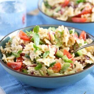 cold feta pasta salad recipe