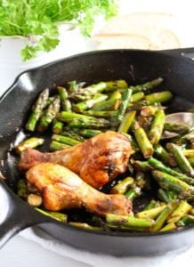 sauteed asparagus 4 218x300 Sauteed Asparagus with Garlic – Easy Asparagus Recipe