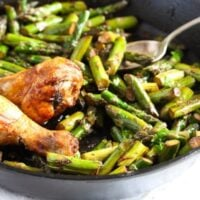 sauteed asparagus 5 200x200 Sauteed Asparagus with Garlic – Easy Asparagus Recipe