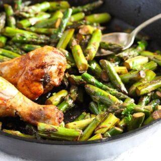 sauteed asparagus 5 320x320 Sauteed Asparagus with Garlic – Easy Asparagus Recipe