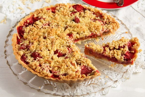 strawberry pie with rhubarb