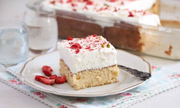 mexican desserts tres leche cake