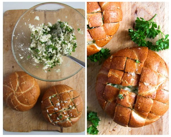 how to make cheese pull apart bread rolls