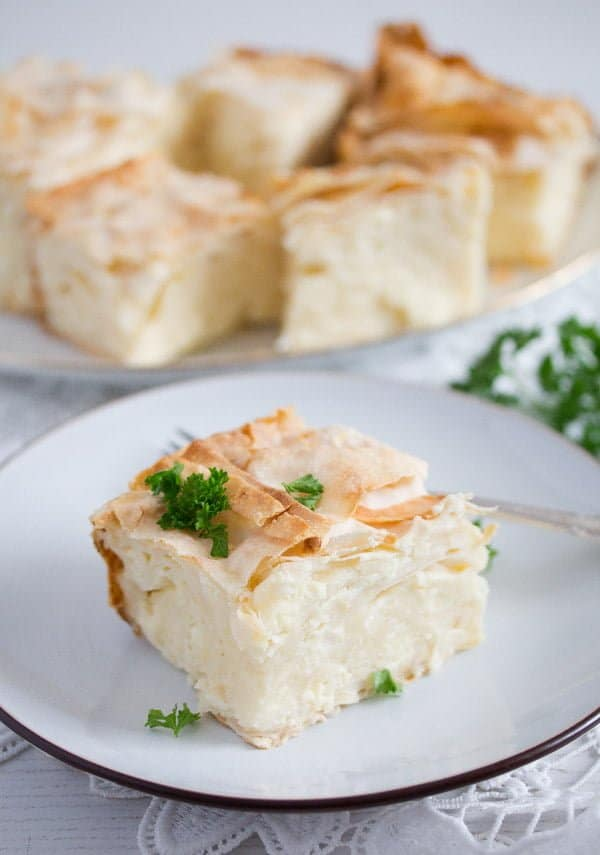 gibanica cheese pie