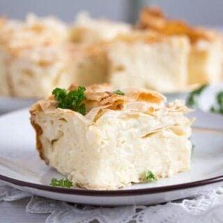 serbian gibanica pie