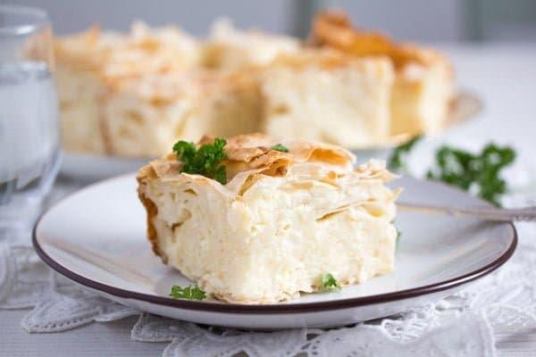 Gibanica – Serbian Cheese Pie – Serbian Food