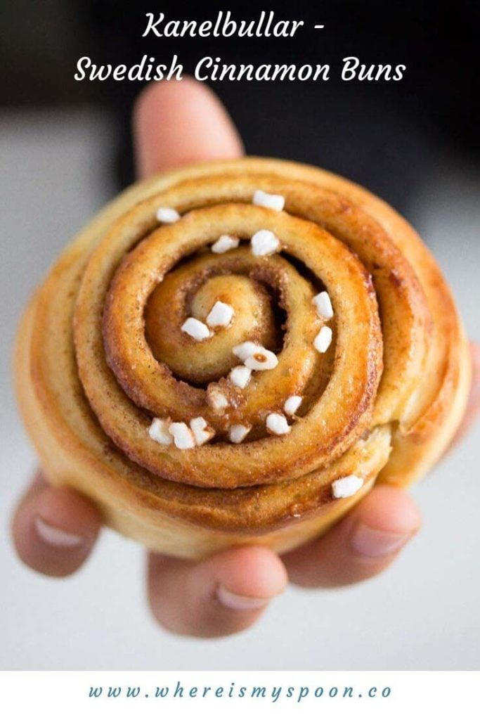 kanelbullar or swedish cinnamon buns recipe