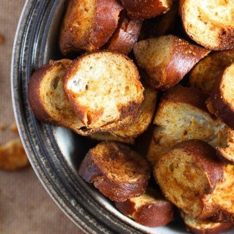How to Make Pretzel Chips