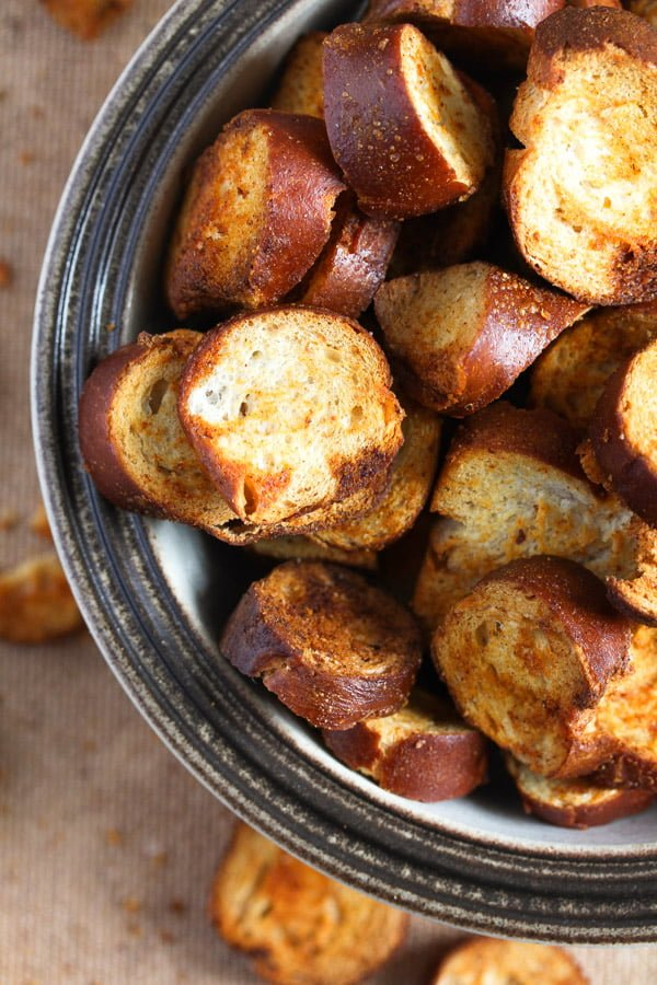 pretzel chips 14 How to Make Pretzel Chips Using Leftover Soft Pretzels