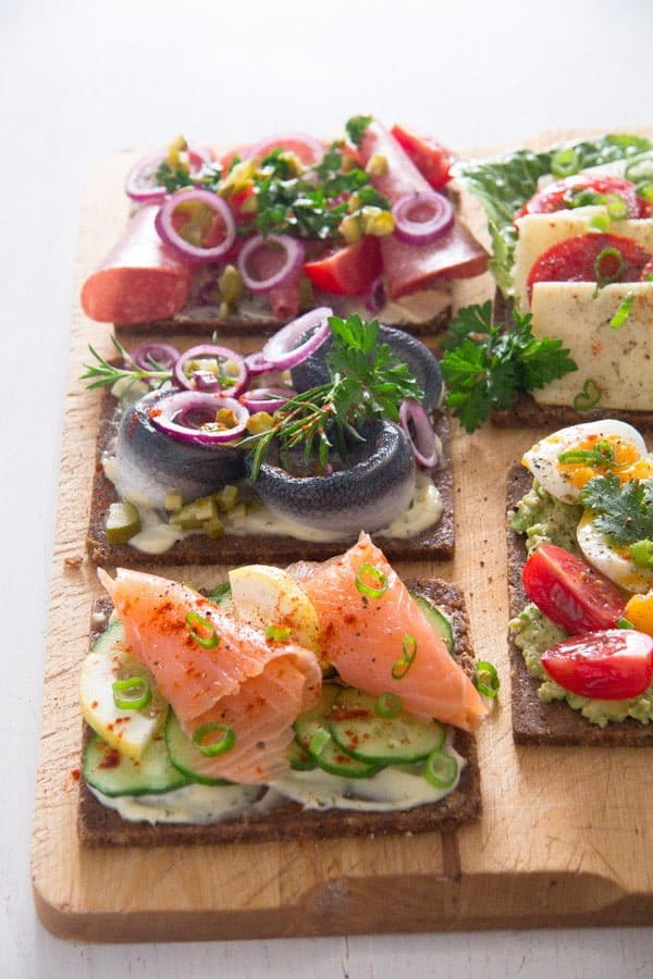 smorrebrod 1 Open Faced Sandwiches – Smørrebrød – Danish Food