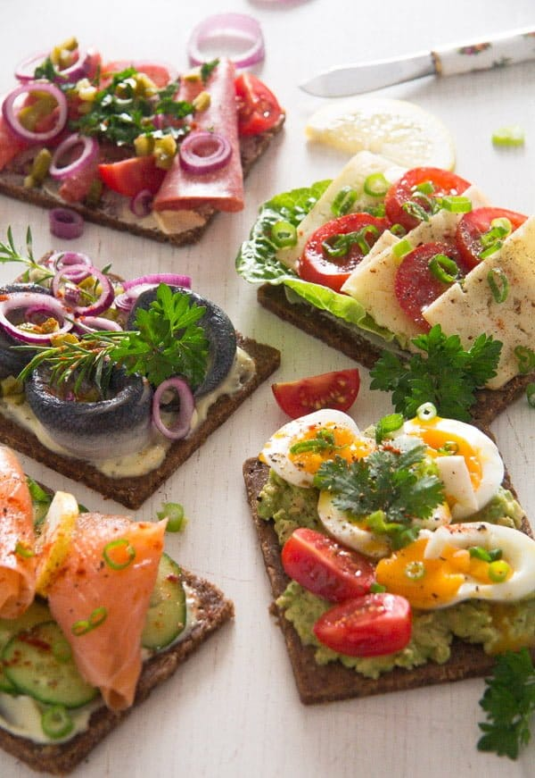 smorrebrod 15 Open Faced Sandwiches – Smørrebrød – Danish Food