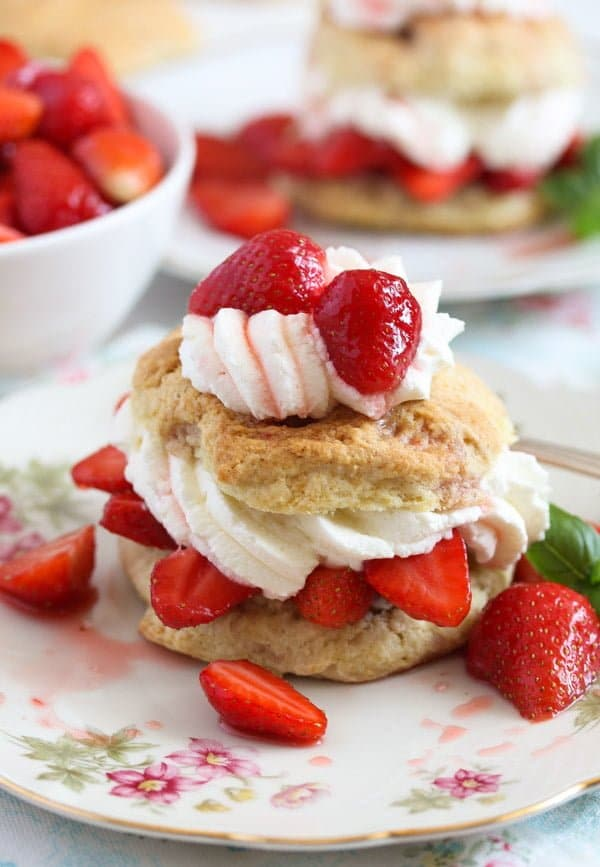 strawberry shortcake 7 Strawberry Shortcake – Classic Recipe with Strawberries and Cream