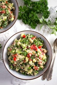 tabbouleh 4 200x300 Tabbouleh or Tabouli Salad with Parsley – Middle Eastern Recipe